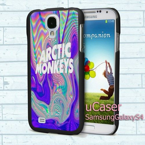 "Arctic Monkeys Logo full for Samsung Galaxy S4 5.0"" screen Black Case"