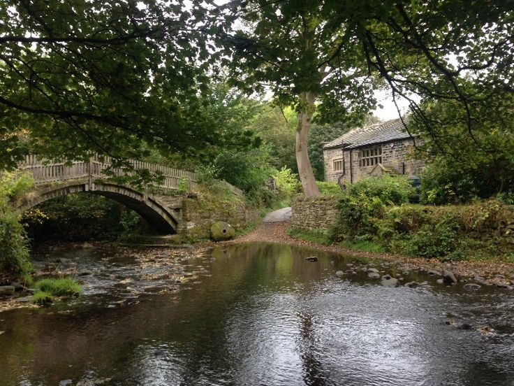 Walk around Bingley West Yorkshire