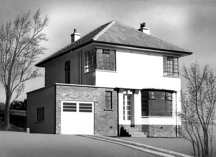 1000 images about 1930s houses on pinterest for Architecture 1930