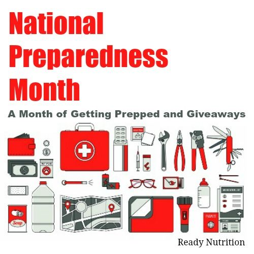 It's National Preparedness Month and we're offering FREE preparedness courses this month. All you have to do is sign-up!