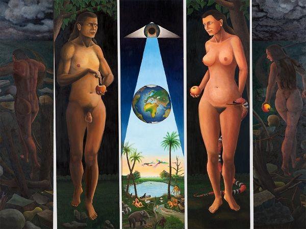 * Rudolf Voigt - - - Garden of Eden (206-001)