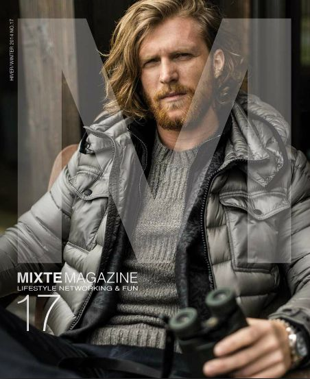 Our Mixte 17 Winter Issue 2014!!! It all about lifestyle and cosy apres-ski.