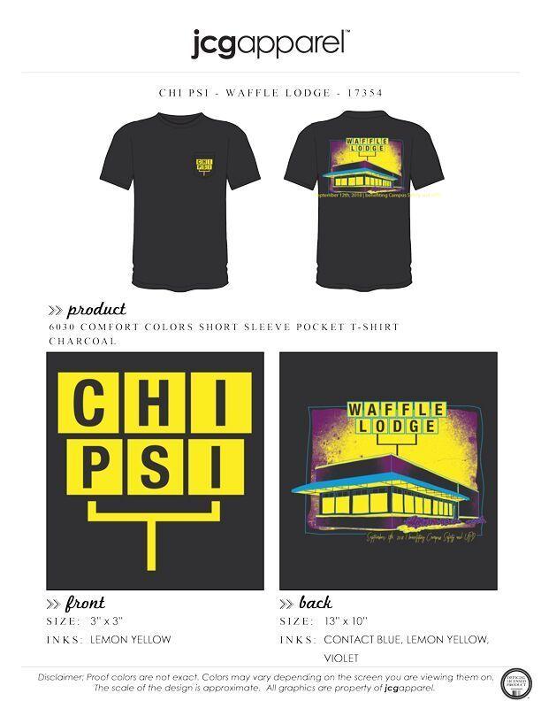 9b8194b1c Chi Psi Waffle Lodge Shirt | Fraternity Waffle Lodge | Greek Waffle Lodge  #chipsi #xy #waffle #house #lodge #event #sign #letters #retro | Chi Psi |  Custom ...
