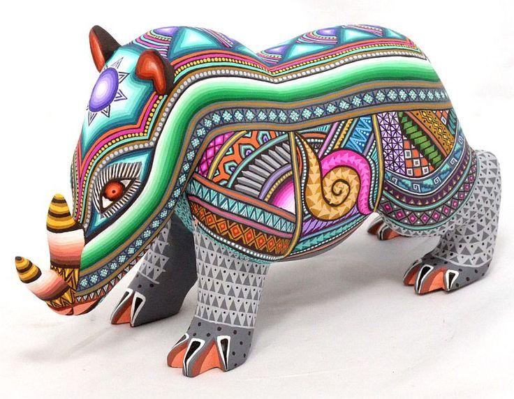 El Hurgador [Arte en la Red]: Rinocerontes (LXVII) - Alebrijes