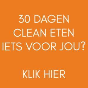 30 dagen clean eten