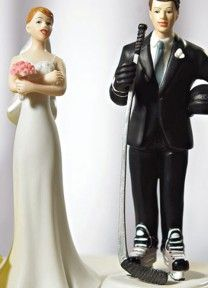 Hockey Cake Topper | Available through Piece O' Cake