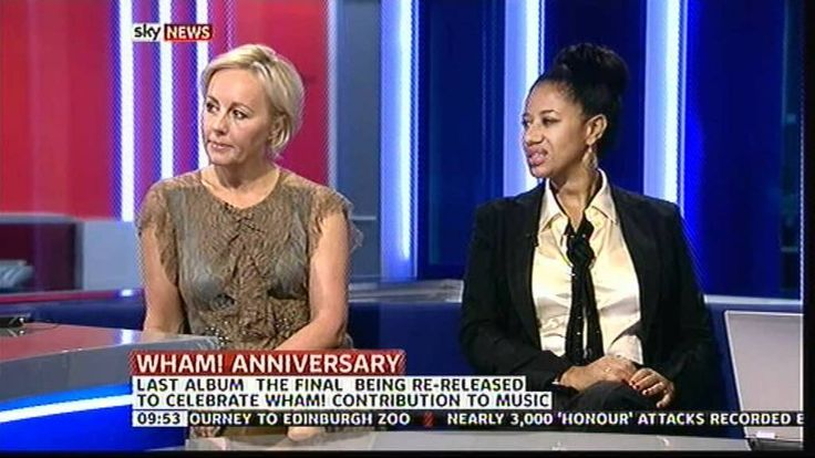 Pepsi & Shirlie : Sky News Sunrise appearance - YouTube