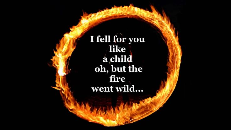Day 1: (Song from your childhood.) Ring Of Fire - Johnny Cash   It is my dad's favorite song. We used sing along whenever it came on the radio. We still do. :)