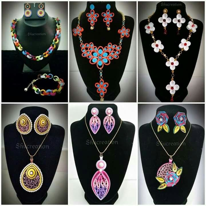 Quilled Jewelry Sets