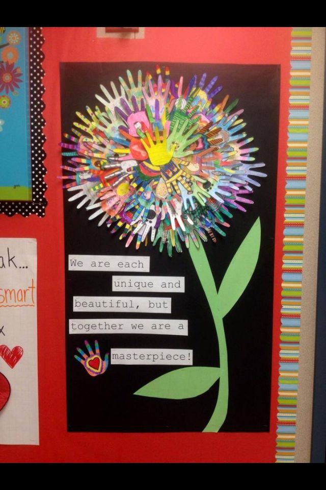 Classroom Decoration For Elementary ~ Valuing diversity school theme pinterest