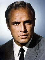 MARLON BRANDO ~ Born April 1924 in Omaha, NE. Married: Anna Kashfi [1957-1959]; Movita Castenada [1960-1962]; Tarita Teriipia [1962-1972]. Children: 15 ~ Christian; Miko; Cheyenne; Stephen; Simon, among them. Movies: The Godfather; On the Waterfront; The Wild One; Viva Zapata; Mutiny on the Bounty; The Young Lions; Sayonara; The Formula, and many, many more. Awards: Oscar for The Godfather. Died: July 1, 2004 [pulmonary fibrosis]. Age. 80