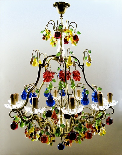 9 best fruit chandeliers images on pinterest chandeliers crystal fruit chandelier aloadofball Choice Image