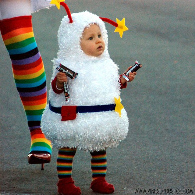baby costume rainbow bright