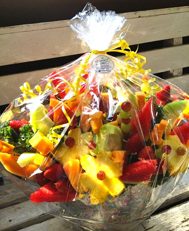 43 best fresh fruit bouquets images on pinterest edible bouquets fresh fruit bouquet gluten free negle Gallery