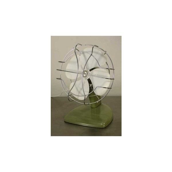 Small 1960s Vintage Tabletop Desk Fan found on Polyvore