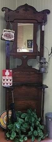 Umbrella Stand with Hooks