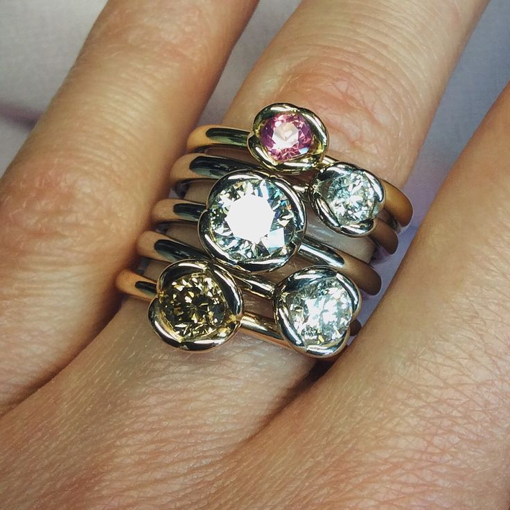 Couer engagement rings by baroque jewellery