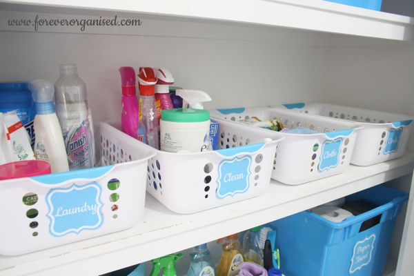 Laundry Room Organisation