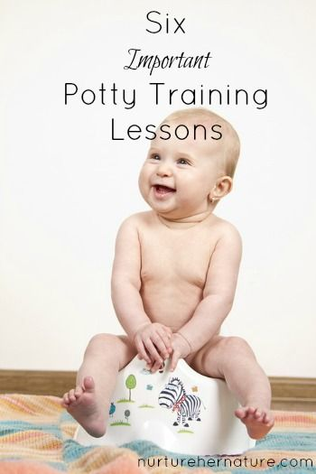 Sometimes potty training doesn't feel like training at all. There are some important lessons all moms should keep in mind while trying to get rid of diapers once and for all!