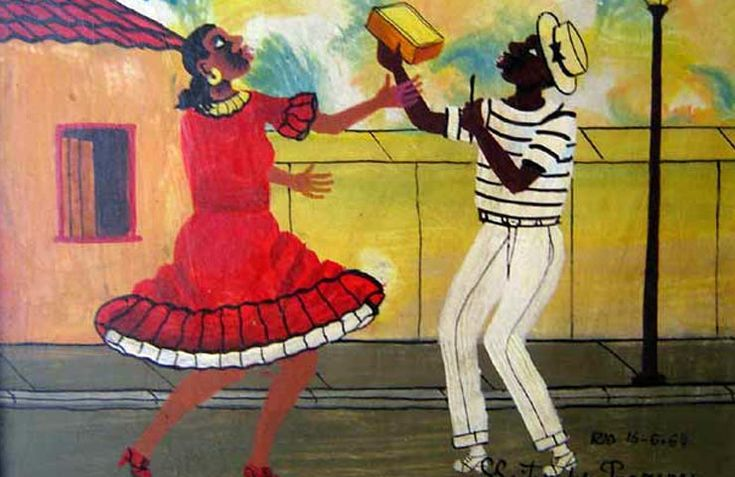 HEITOR DOS PRAZERES (1898/1966), BRAZILIAN PRIMITIVIST PAINTER – His life as a painter and samba musician - Meeting Benches