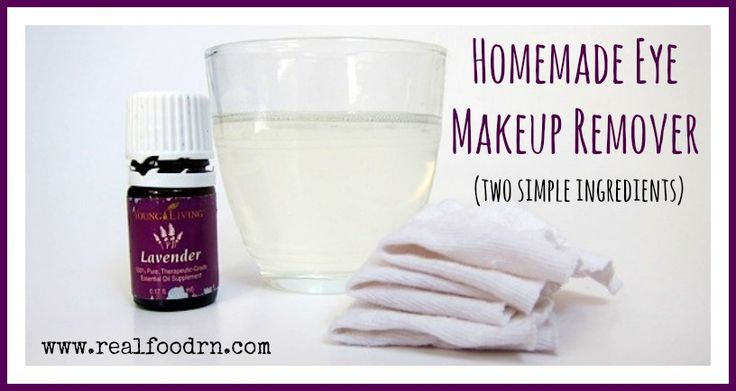 Young Living Essential Oils: Eye Makeup Remover with Lavender