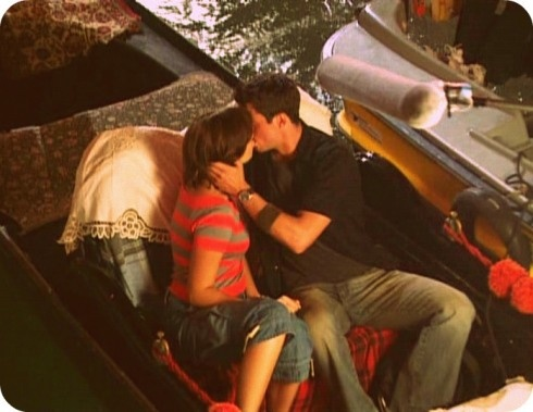 "The Surprise Gondola Kiss - ""Chasing Liberty"" (2004) with Mandy Moore and Matthew Goode."