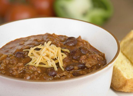 High Protein, meatless, Tofu Chili With Black Beans