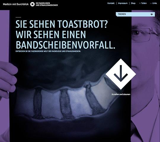 Sie sehen ein Toastbrot? Wir sehen einen Bandscheibenvorfall.