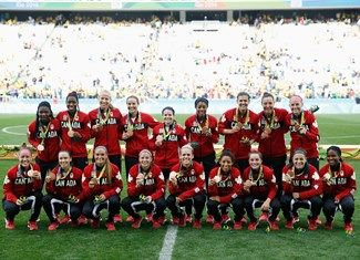 Medal - Canada - Football - Canada - Women - Women's Bronze Medal Match - Rio Olympic Arena