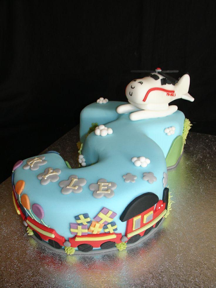 (Nov 2013) Harold Helicopter Cake