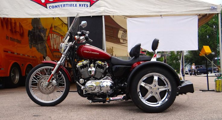 Harley-Davidson Sportster - Voyager Standard Motorcycle Trike Kit