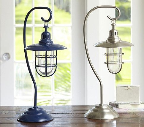 fisherman table lamp pottery barn kids rustic lantern table lamp. Black Bedroom Furniture Sets. Home Design Ideas