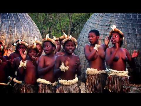 Beautiful Traditional African Zulu Dancing - Africa Travel Channel - YouTube