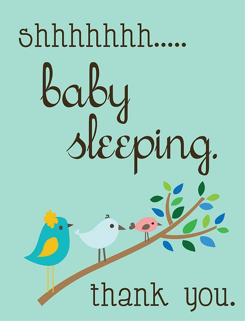 I made this for our front door now that we'll have 2 babies napping. 3 little birdies for my 3 little treasures. :): Front Doors Signs, Baby Sleeping, Baby Kids, Good Ideas, Baby Sleep Signs, Baby 3, Baby Naps, Naps Time, Photo