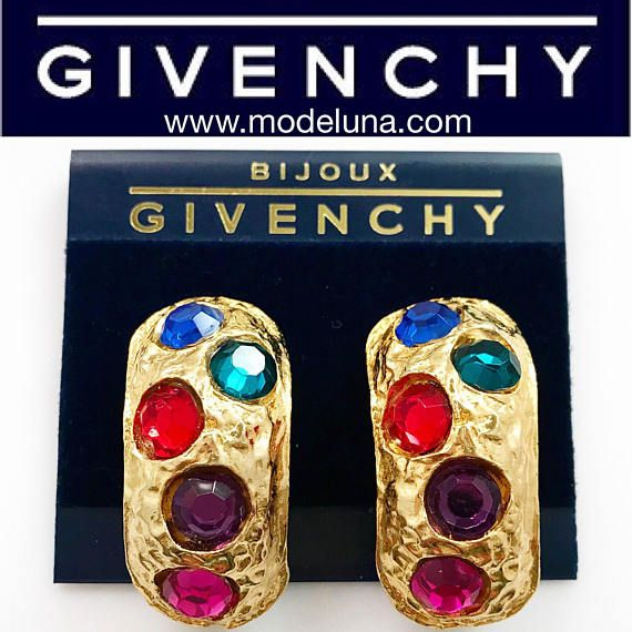 Givenchy Earrings  Givenchy Vintage 1980's High Luxury