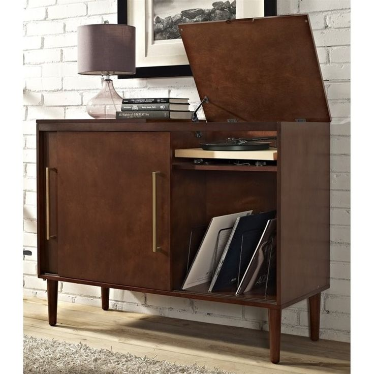 Crosley Everett Media Console In Mahogany In 2019 Form