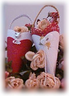 Victorian Tussie Mussie ~ Free Craft Project #Diy #Christmas Craft