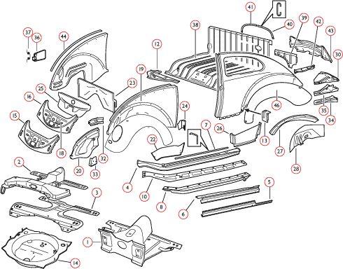 36 best v dub parts images on pinterest beetles vw beetles and vw rh pinterest com vw tiguan parts diagram vw passat parts diagram