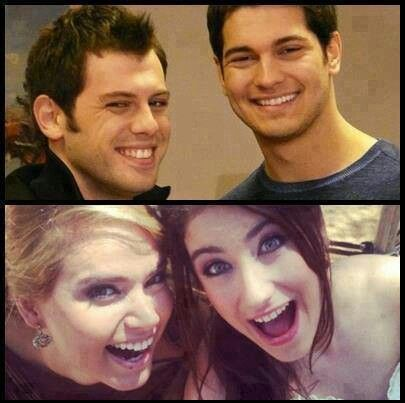 Friends Koray and Emir Hande and Feriha