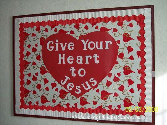 Image result for Valentine Church Bulletin Boards