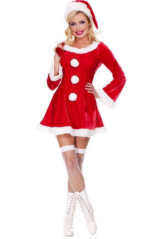 1000  ideas about Womens Santa Costume on Pinterest - Christmas ...