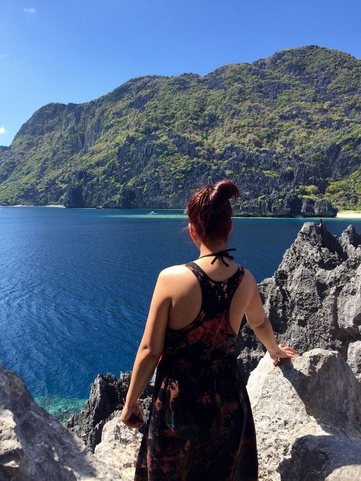 Matinloc Island, El Nido Palawan, Hilltop View