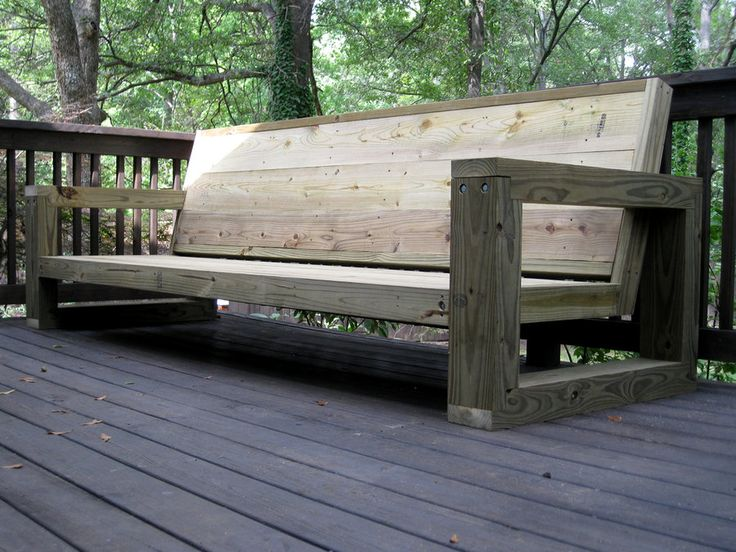 Outdoor Furniture on Pinterest | Diy garden furniture, Diy outdoor ...