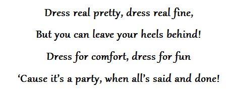 Indian wedding dress code wording
