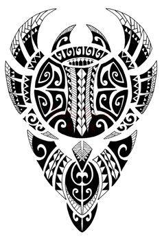 Samoan et conceptions de tatouage polynésien