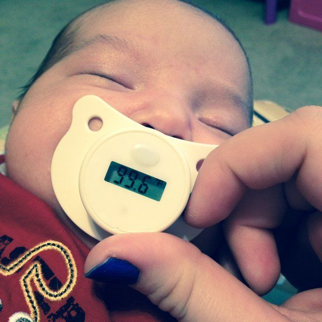 Digital Pacifier Thermometer #Baby, #Health