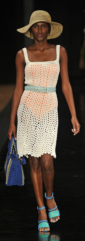 Carlos Miele at Rio Fashion Summer 2012 - Crochet Dress