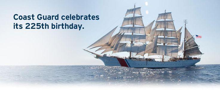 Coast guard celebrates its 224th birthday coast guard