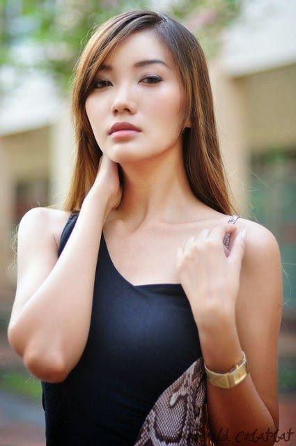 Mable Soe - Sexy Myanmar Model Fashion In Singapore -8995