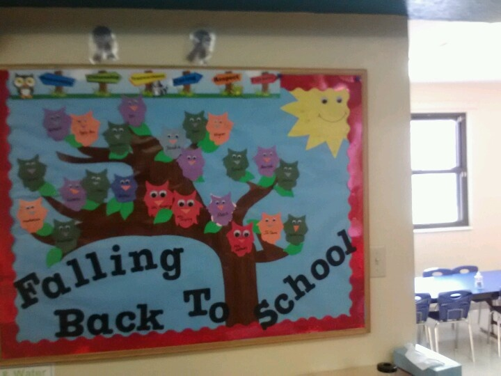 September bulletin board